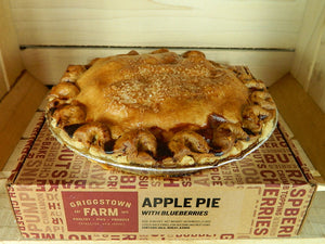 Apple & Blueberry Pie