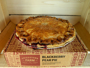 Blackberry Pear Pie - Frozen