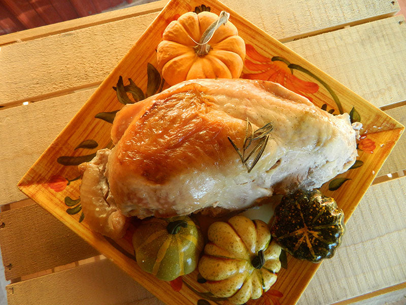 Boneless Turkey Breast (Frozen) Deposit - $8.49/lb