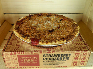 Strawberry Rhubarb Pie - Frozen
