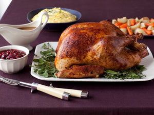 All Natural, Free-Range, Heirloom Frozen Turkey – Red Bourbon – $9.90/lb – Deposit
