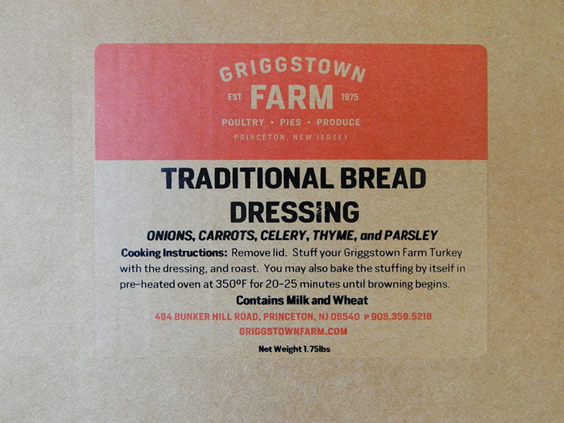 Traditional Bread Dressing