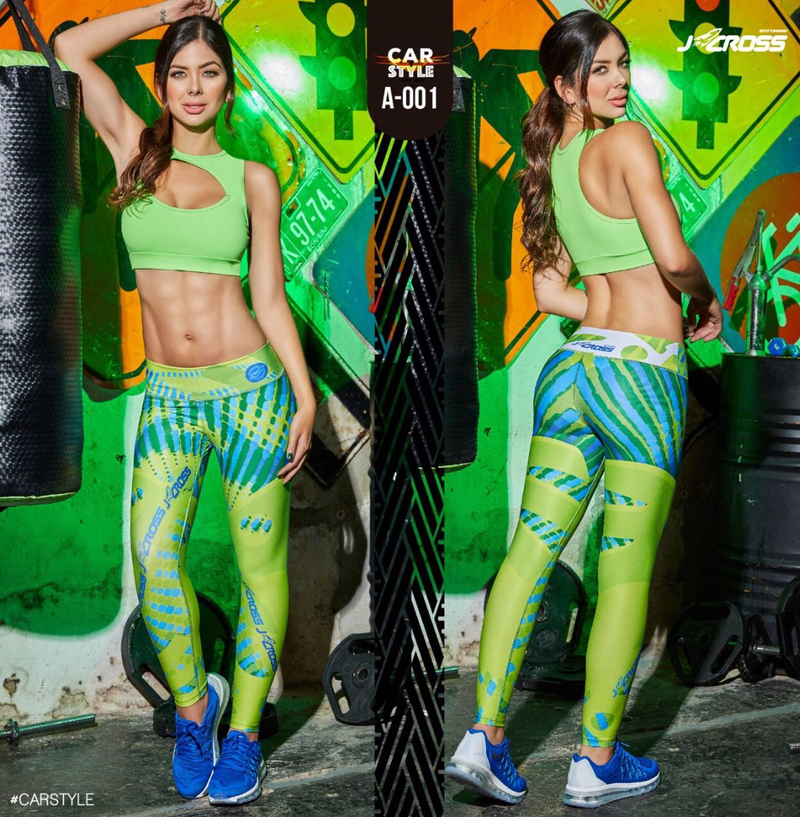 Colombian Butt Lifting Effect Workout Leggings