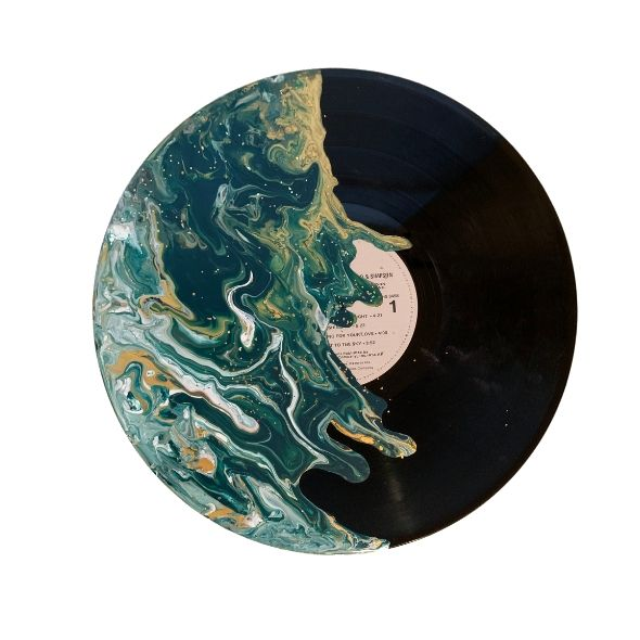 """Delightful"" - Painted Record"