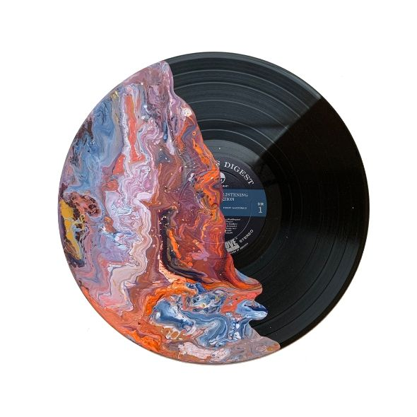 """Fierce"" - Painted Record"