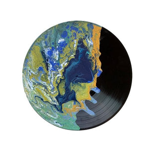 """Pleasant"" - Painted Record"