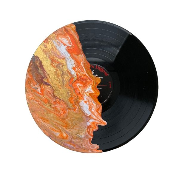 """Joy"" - Painted Record"