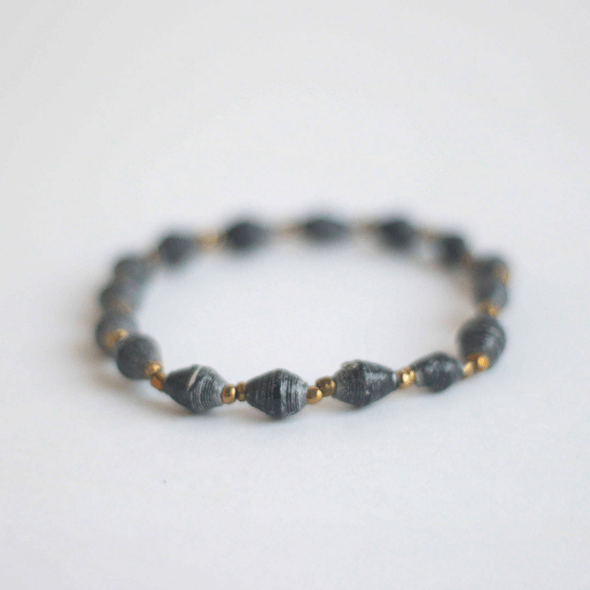 Single Bracelet - Dark gray