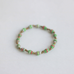 Single Bracelet - Green & Red