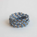 Coil Bracelet - Light blue