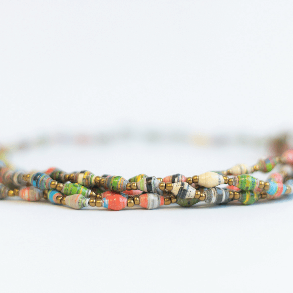 Multicolored Necklace - Bright colors