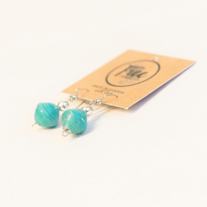 Earrings - Turquoise beads