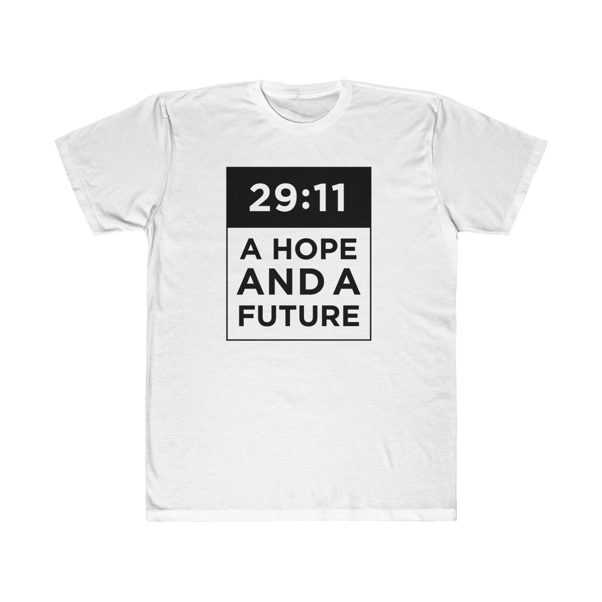 """29:11"" Unisex Fitted Tee"