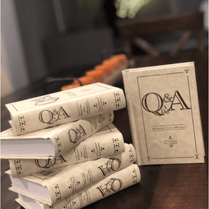 Q&A a Day - Three Year Journal for Christians
