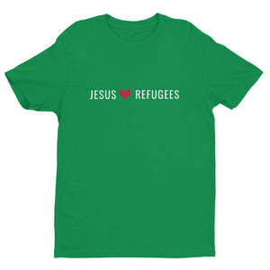 """Jesus Loves Refugees"" - Unisex Short Sleeve T-shirt"