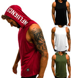 Men Casualetics Hoodies Tank Top