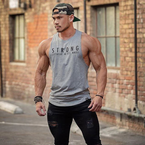 Men Gym Tank Top (Strong)
