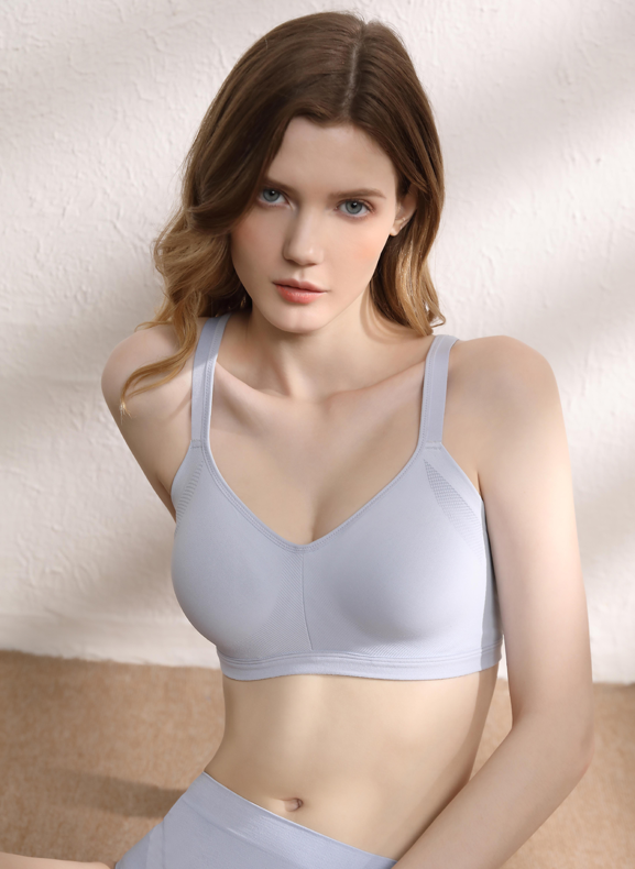Easy Fit Non-Wire Padded Vest Bra N10-02974V