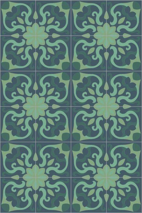 Bisazza Cementiles Couture Spell Sumatra