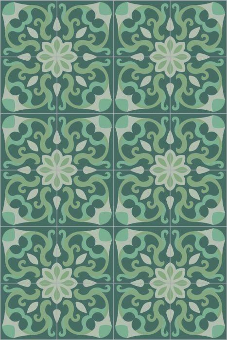 Bisazza Cementiles Couture Spell Tropical