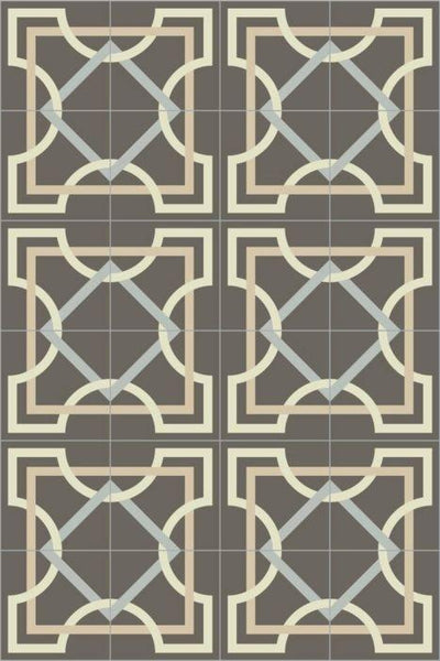 Bisazza Cementiles Couture Tapis Onice