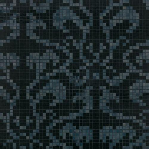 Bisazza Decori 20 Damasco Black