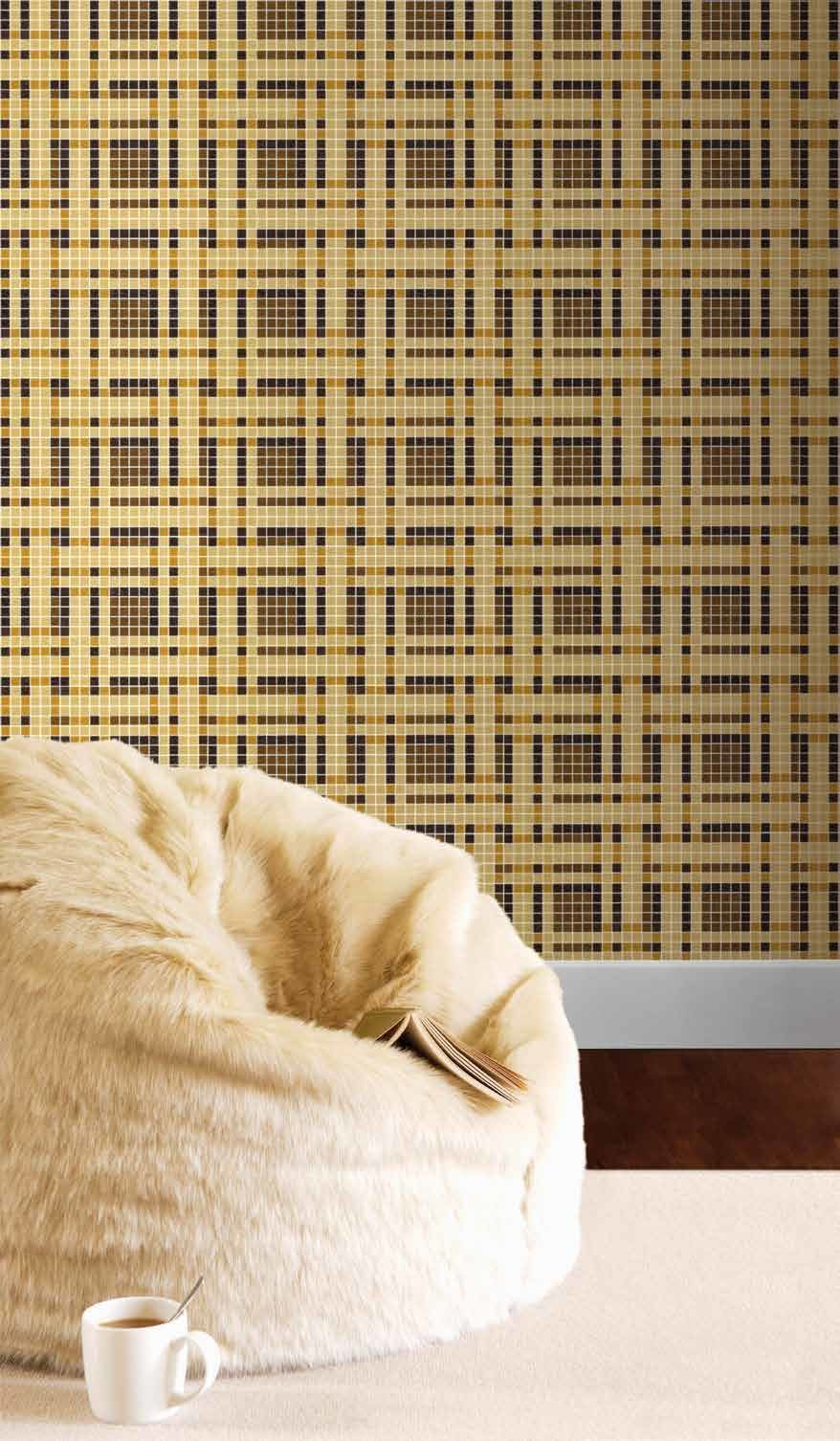 Bisazza Decori 20 Gate Brown