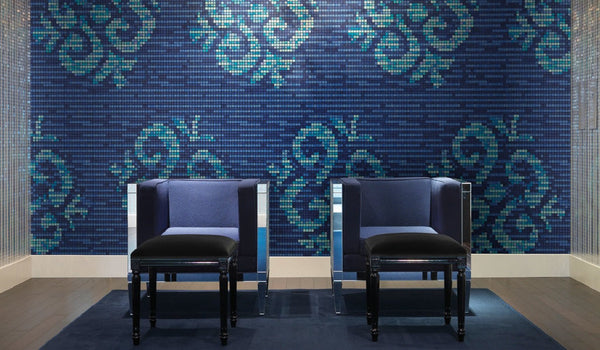 Bisazza Decori 20 Ginseng Blue