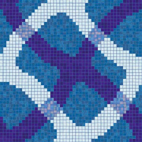 Bisazza Pools Mirage Blue