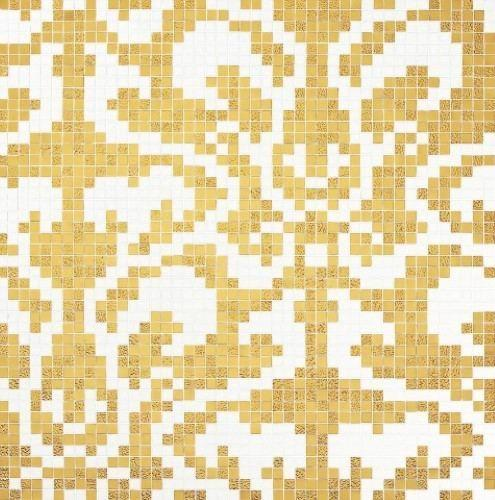 Bisazza Decori 20 Damasco Oro Giallo