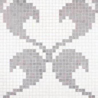 Bisazza Decori 20 Hearts White