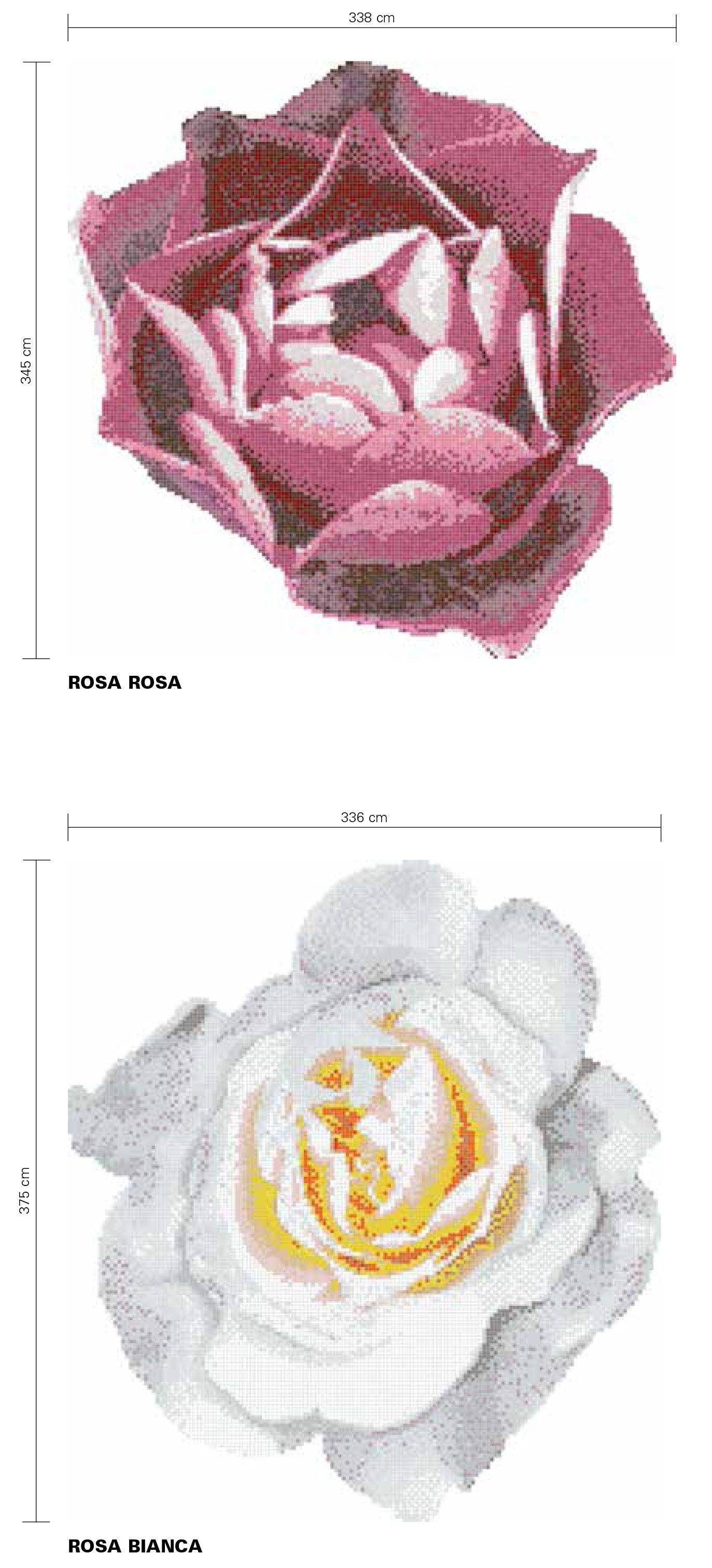 Bisazza Pools Rosa Bianca