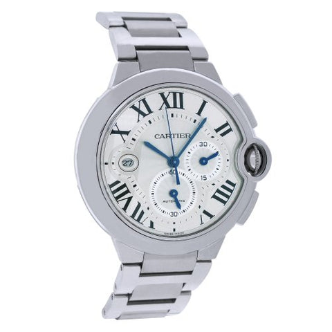 Cartier Men's W6920002 Stainless Steel Analog Silver Dial Watch