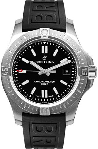 Breitling Chronomat Colt Black Dial Men's Watch A1738810/BG81-153S