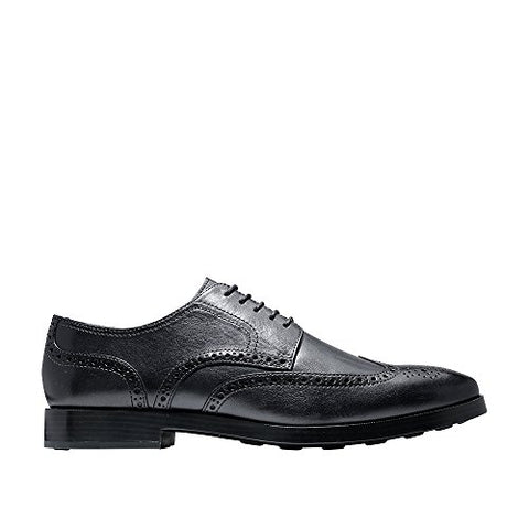 Cole Haan Mens Jefferson Grand Wingtip Oxford 10 Navy Ink