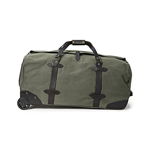 Filson Large Rolling Duffle Bag, Otter Green