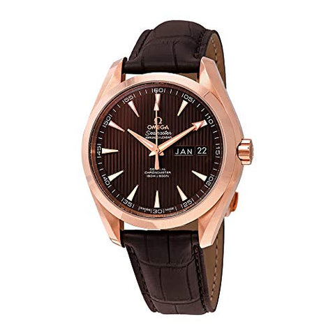 Omega Seamaster Aqua Terra 18kt Rose Gold Annual Calendar Watch 231.53.43.22.06.003
