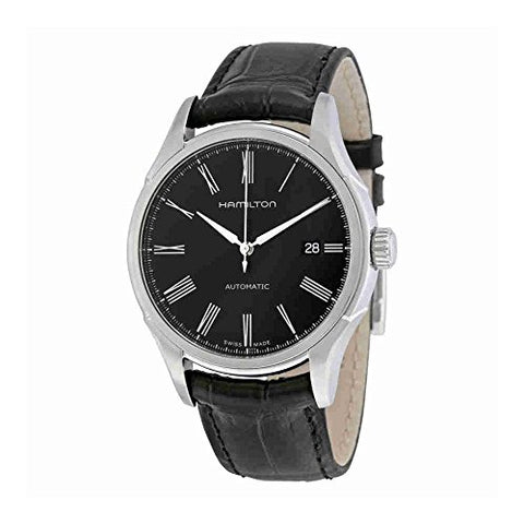 Hamilton Men's H39515734 Timeless Class Analog Display Automatic Self Wind Black Watch