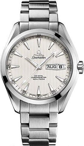 Omega Seamaster Aqua Terra 43mm Silver Dial Men's Watch 231.10.43.22.02.001
