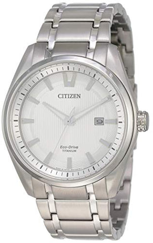 Citizen Mens Watch ECO-DRIVE Analog Casual Solar Japan AW1241-54A