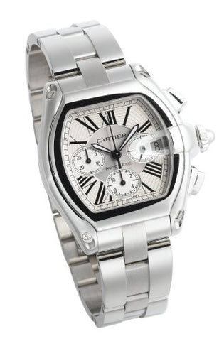 Cartier Men's W62019X6 Roadster Automatic Chronograph Watch