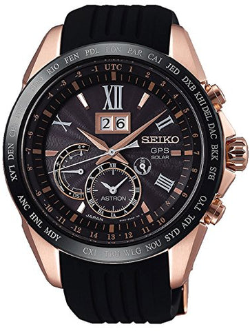 Watch Seiko Astron Big Date SSE153J1 Black Man