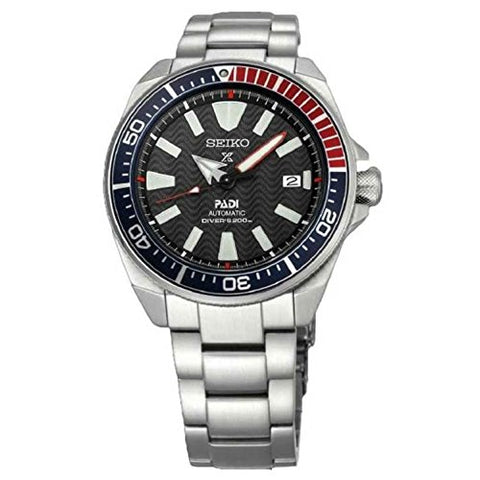 Seiko rospex Padi Automatik Diver Samurai SRPB99K1 Mens Wristwatch Diving Watch
