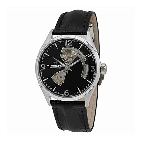 Hamilton Jazzmaster Automatic Open Heart Black Dial Mens Watch H32705731