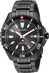 Citizen Watches Men's BN0195-54E Eco-Drive Black One Size