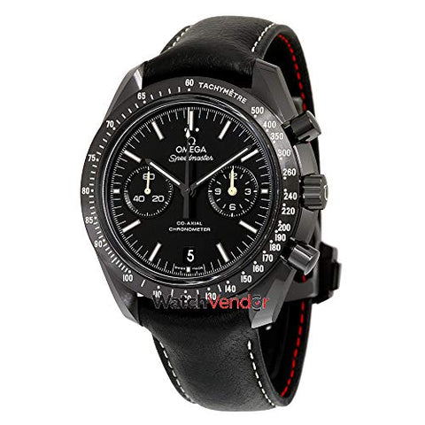 Omega Men's 31192445101004 Speed Master Analog Display Swiss Automatic Black Watch