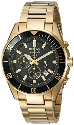 Bulova Men's 98B250 Analog Display Quartz Two Tone Watch