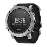 Suunto Essential S Digital SS Textile Multi Quartz Men's Watch SS021218000