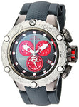 Invicta Men's 'Subaqua' Quartz Stainless Steel and Silicone Casual Watch, Color:Grey (Model: 24446)