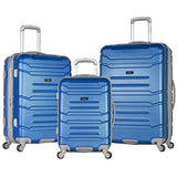 Olympia Denmark 3 Piece Luggage Set, Navy